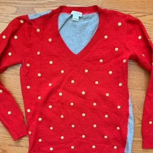 JCrew Holiday Sweater